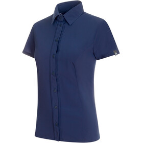 Mammut Trovat Light t-shirt Dames blauw